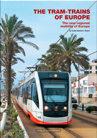 Portada de The tram-trains of Europe